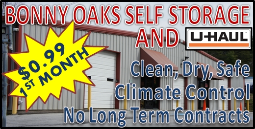 Bonny Oaks Self Storage In Chattanooga TN