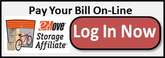 Pay your Self Storage Rent On-Line