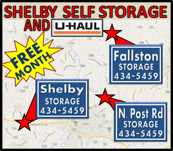 SHELBY SELF STORAGE AND UHAUL
